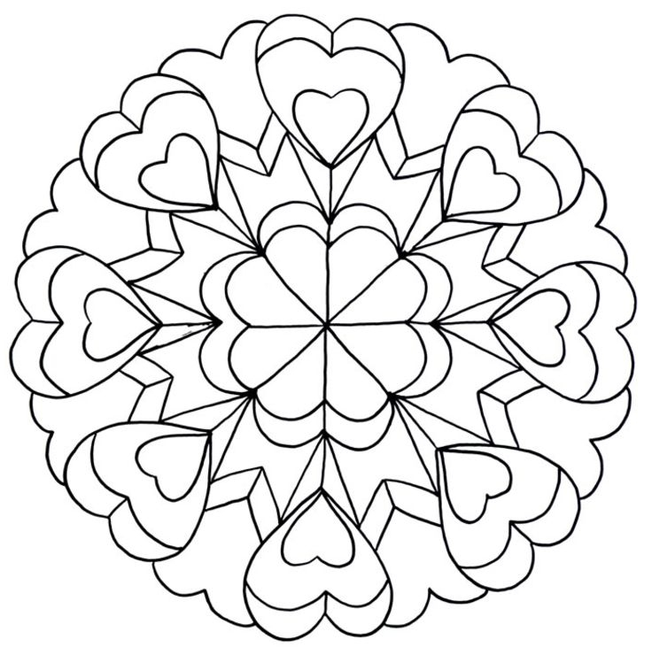 736x740 Coloring Pages For Teenage Girls Printable