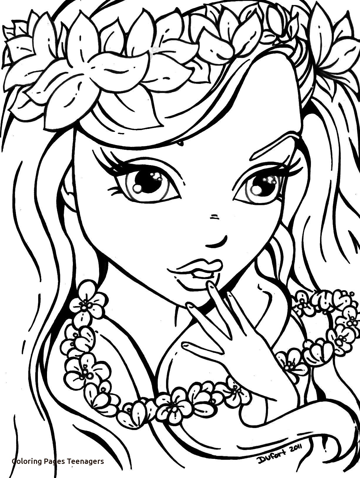 1225x1624 Teenage Coloring Pages Last Chance Teenager Girl For Kids