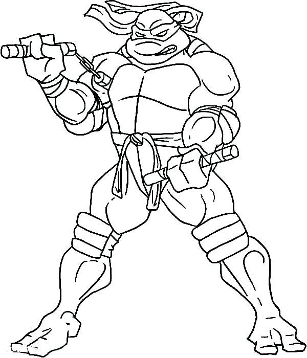 600x700 Ninja Turtle Coloring Page Mutant Ninja Turtles Coloring Pages