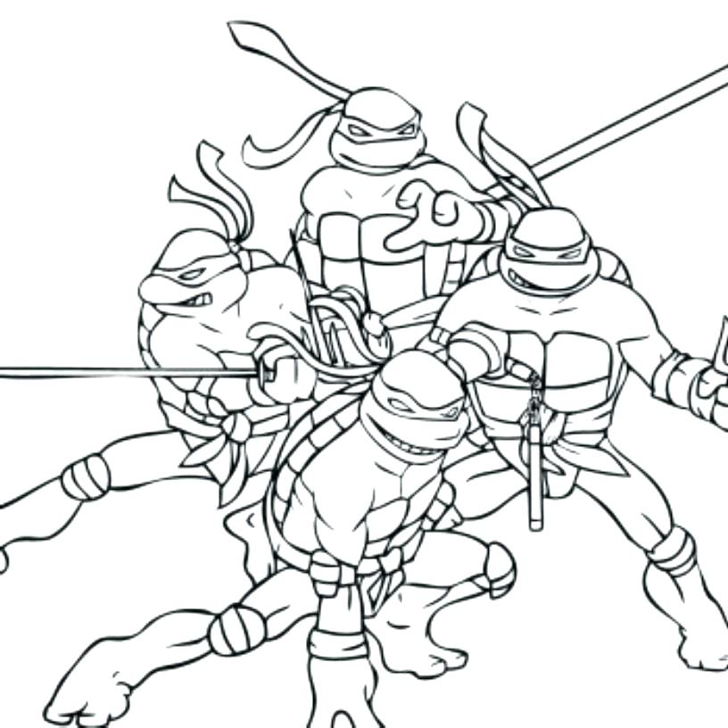 Coloring Pages For Teenage Mutant Ninja Turtles at GetDrawings.com ...