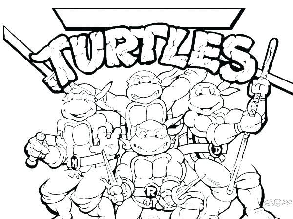 600x449 Coloring Pages Teenage Mutant Ninja Turtles Online Teenage Mutant