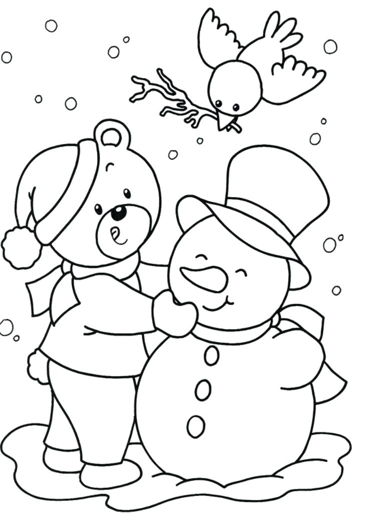 739x1024 Kids Christmas Coloring Sheets And Child Coloring Page Beautiful