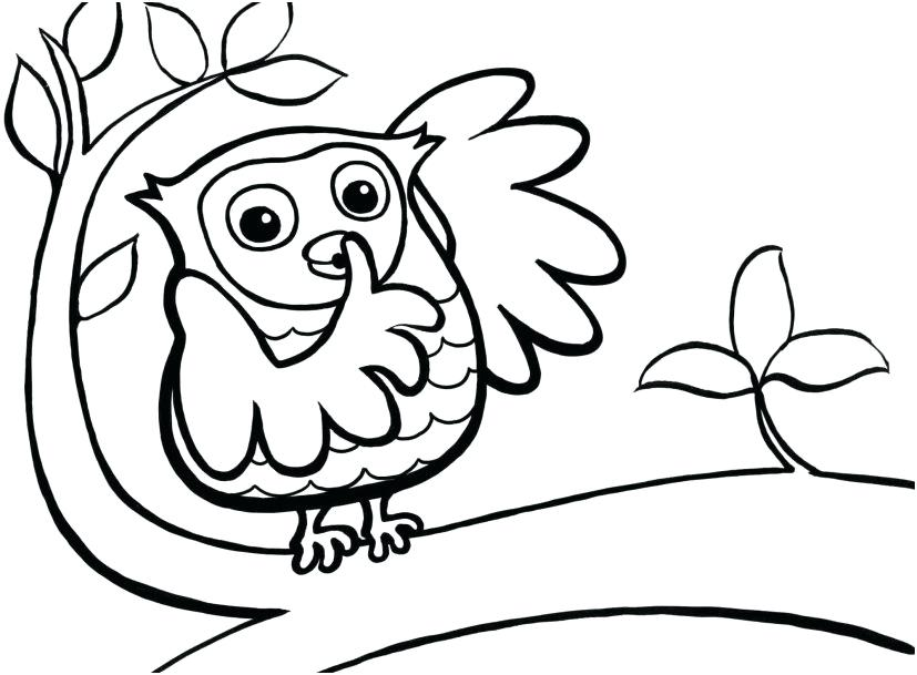827x609 Coloring Pages Toddlers Easy Coloring Pages For Toddlers Printable