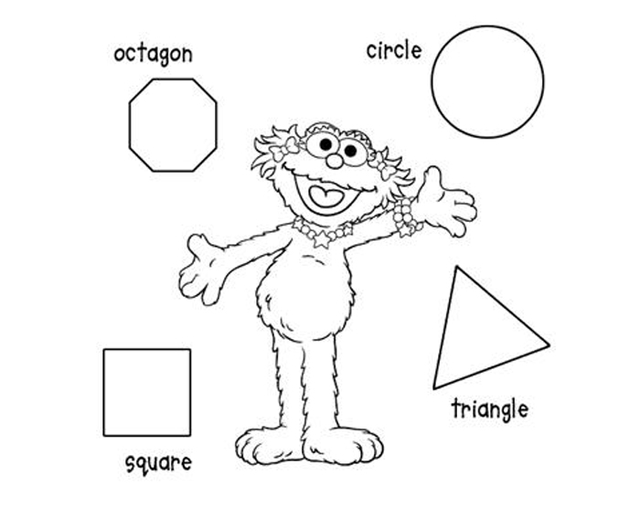 700x579 Printable Shapes Coloring Pages