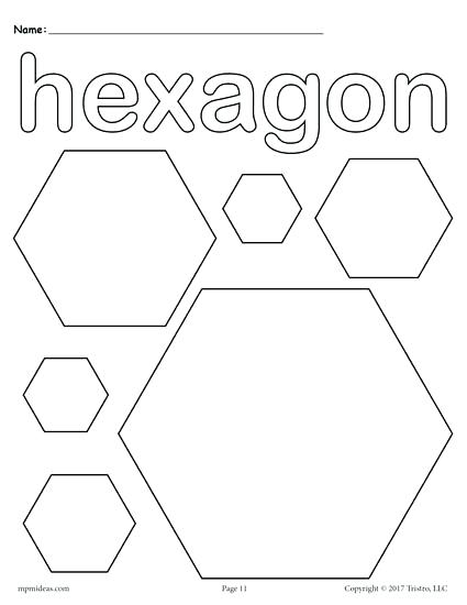 425x550 Coloring Pages For Toddlers Shapes Octagon Coloring Page Coloring