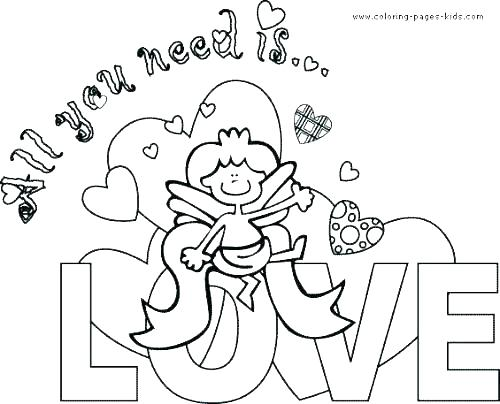 500x404 Colorable Valentines Day Cards Teleks Site