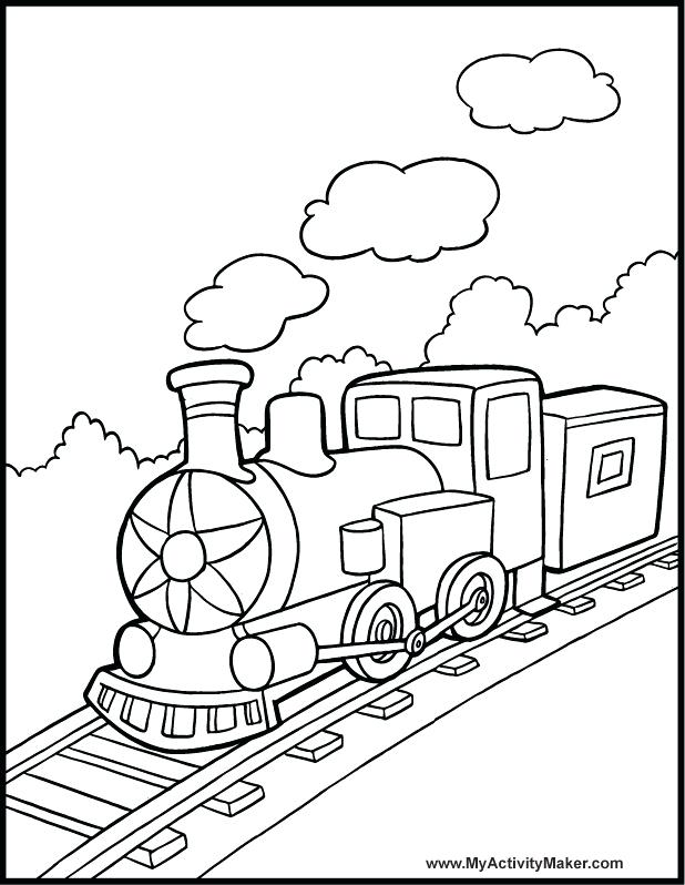 618x798 Coloring Pages Trains Simple Train Do You Love Train Here Is Train