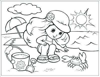 400x309 Season Coloring Pages Season Coloring Pages Summer Season Coloring