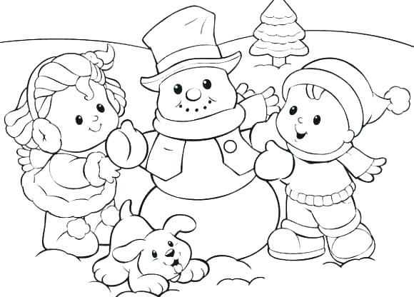 580x416 Seasons Coloring Pages Seasons Coloring Page Snow Coloring Pages