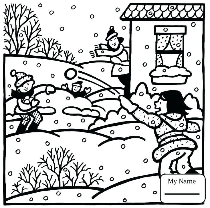 734x729 Seasons Coloring Pages Seasons Coloring Pages Fabulous Gallery
