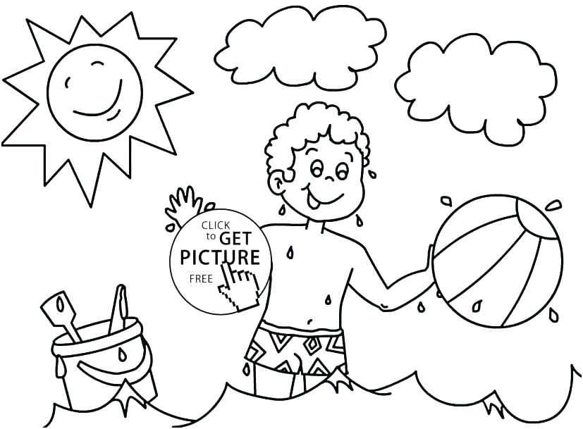 827x609 Seasons Coloring Pages Printable