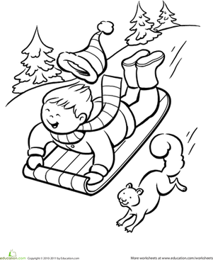 301x367 In Season! Coloring Pages For The Four Seasons