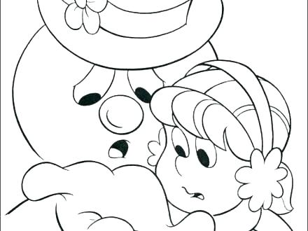 440x330 Frosty The Snowman Coloring Pages Frosty Snowman Coloring Pages