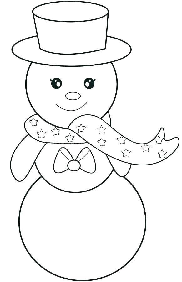 582x900 Frosty The Snowman Coloring Pages Snowman Color Sheets Snowman