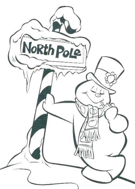 photo regarding Printable Snowman referred to as Coloring Web pages Frosty The Snowman at  No cost