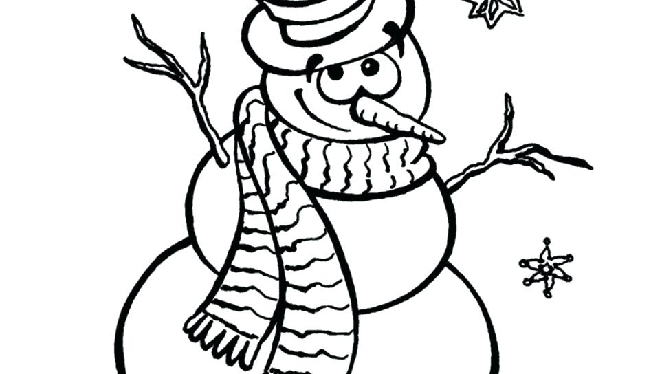960x544 Frosty The Snowman Coloring Pages