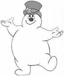 206x244 Cute Frosty The Snowman Coloring Page Activities For Kids