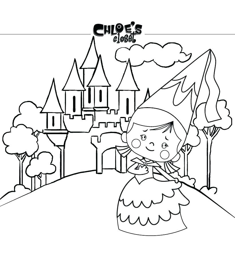 820x900 Coloring Games Kids Coloring Games For Free Castle Coloring Pages