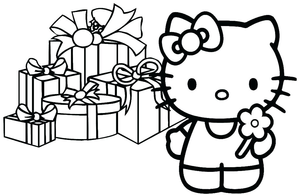 1024x666 Hello Kitty Coloring Pages Games Hello Kitty Happy Birthday