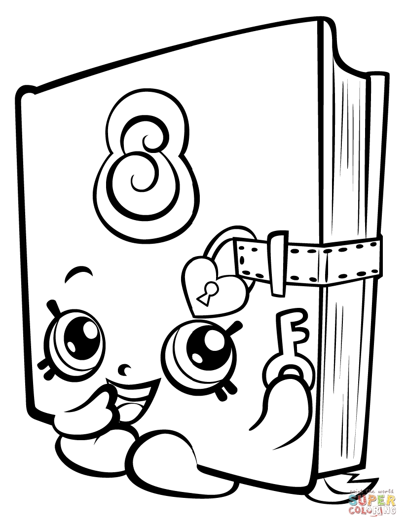 825x1068 Shopkins Coloring Pages Games Online Free