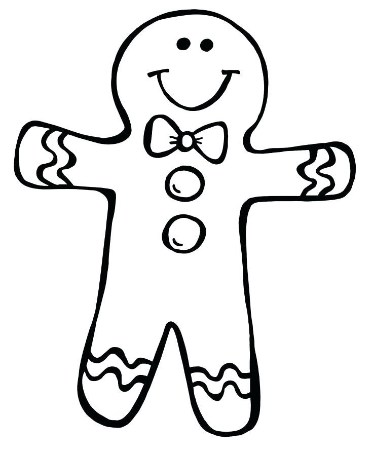 736x896 Gingerbread Coloring Pages Gingerbread Girl Gingerbread Man Free