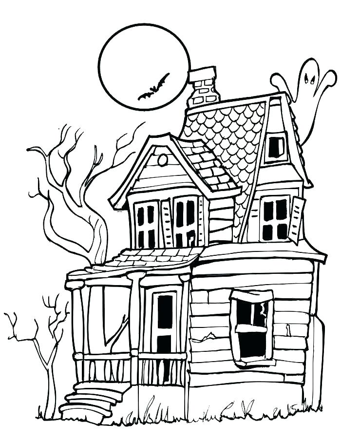 700x905 Coloring Pages Of Halloween