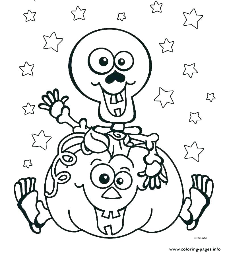 791x888 Halloween Pages To Print And Color Vanda