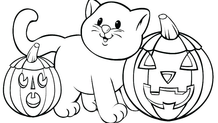 750x425 Coloring Pages Of Halloween Coloring Pages Owl Witch Coloring Page