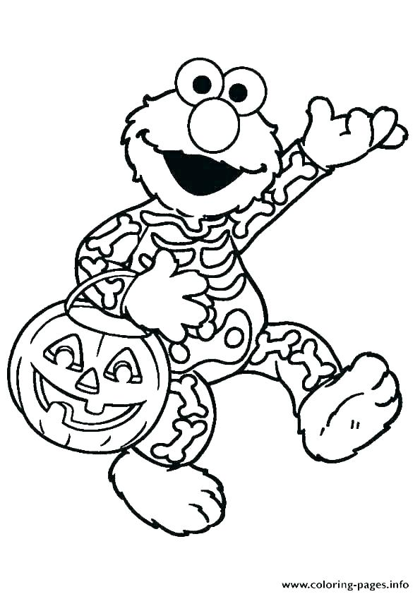 595x842 Coloring Pages Of Halloween Coloring Sheet For Kids Picture