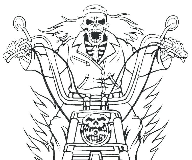 760x633 Ghosts Coloring Pages Printable Ghost Rider Coloring Pages