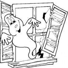 220x220 Ghost Coloring Pages