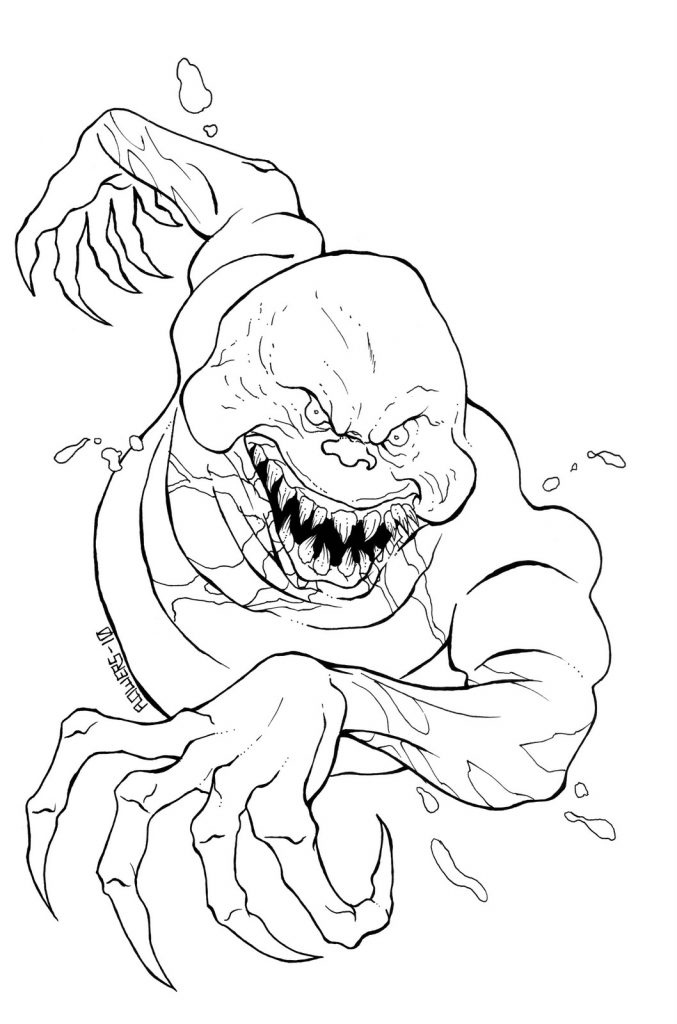 677x1024 Scary Coloring Pages Scary And Scary Stuff