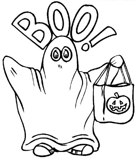 569x648 Fun And Spooky Halloween Coloring Pages Costumes
