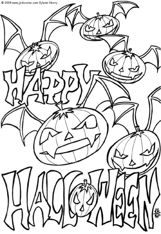 621x900 Printable Scary Halloween Coloring Pages Great Scary Halloween