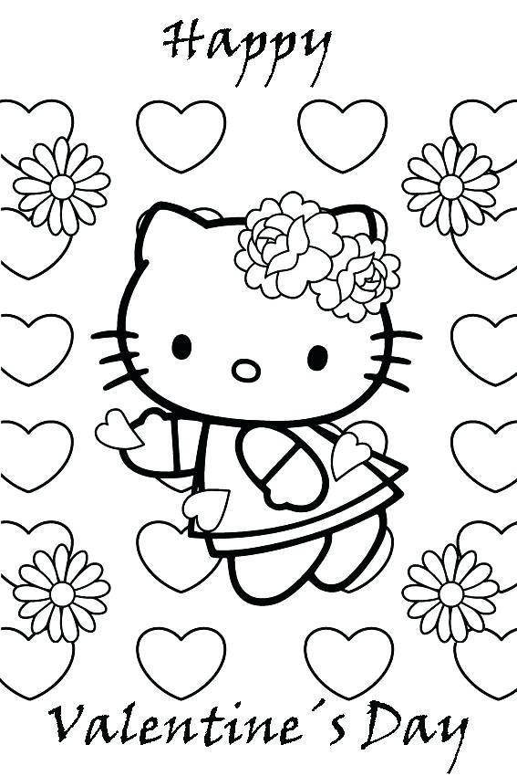 567x850 M Coloring Pages M Coloring Page Coloring Pages Happy Valentines