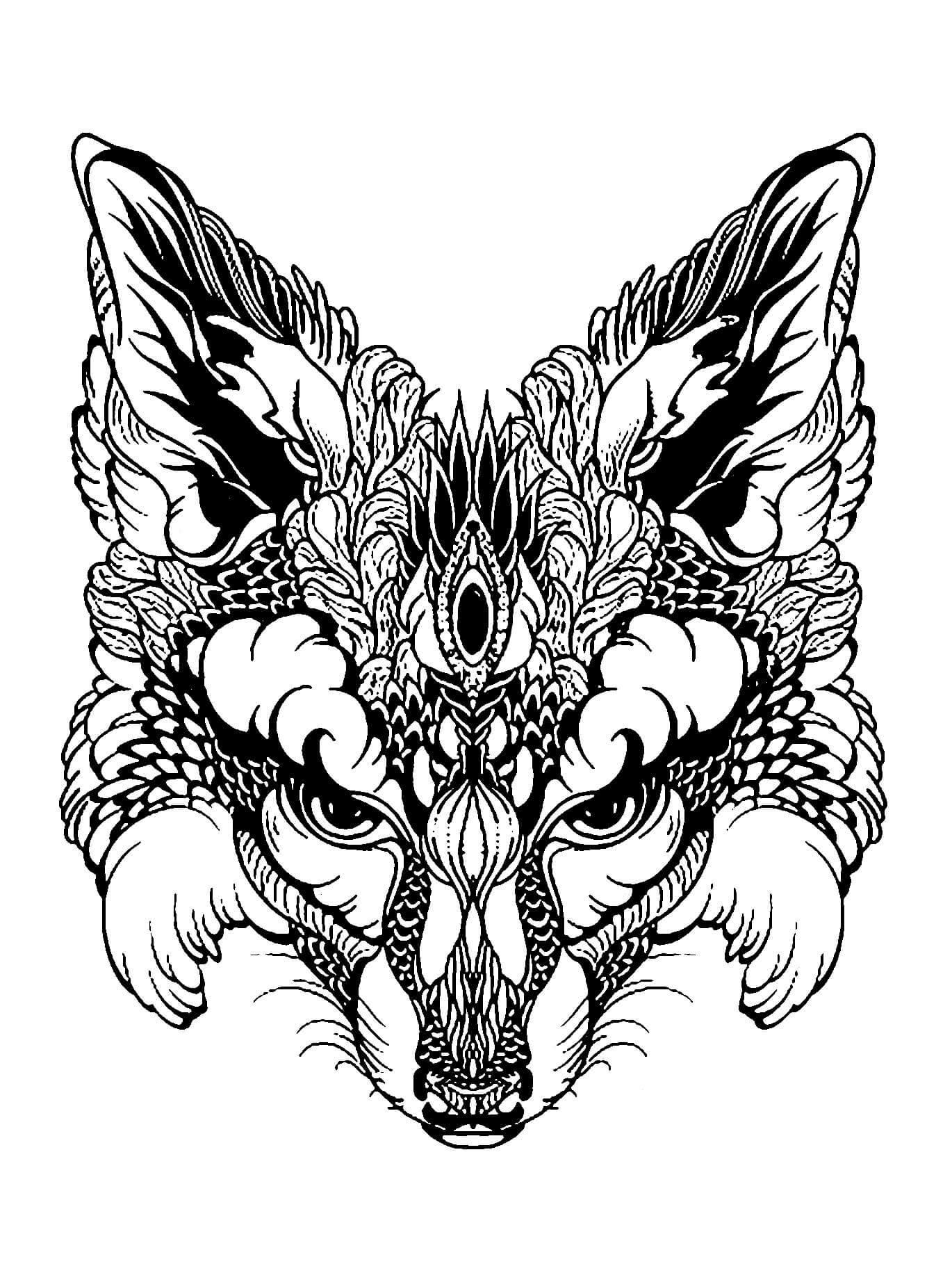 - Coloring Pages Hard Animals At GetDrawings Free Download