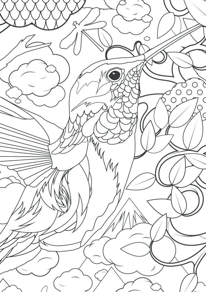 723x1024 Hard Coloring Pages Free Difficult Animals For Adults Coloring