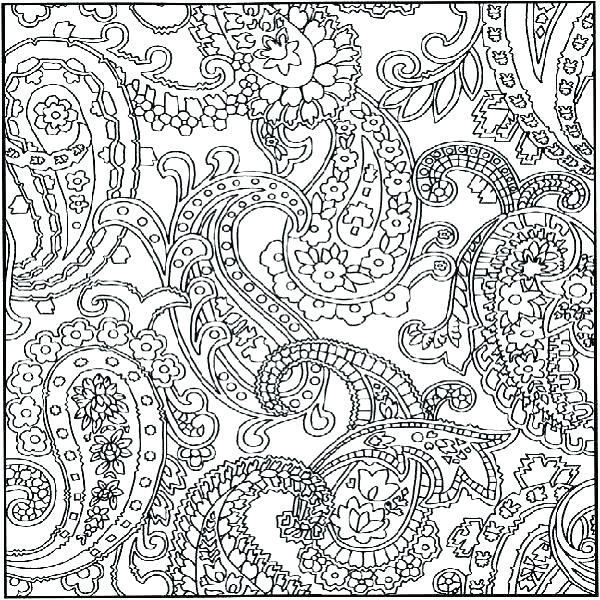 600x600 Hard Design Coloring Pages Coloring Pages Of Patterns Pattern
