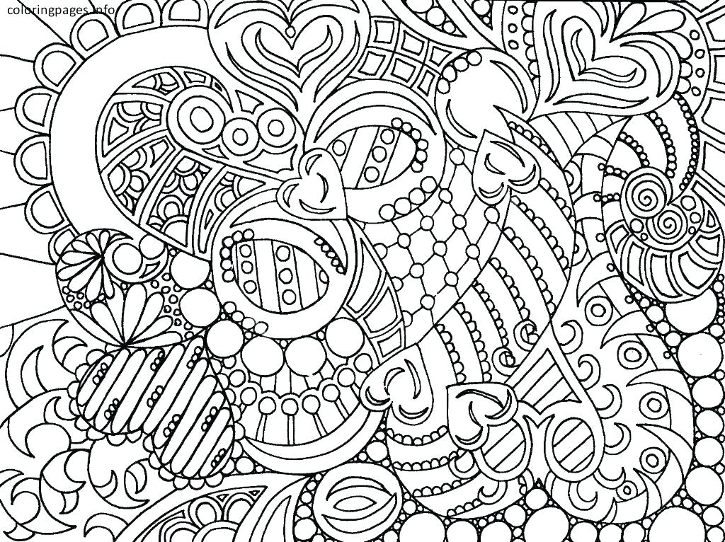 1024x766 Hard Design Coloring Pages