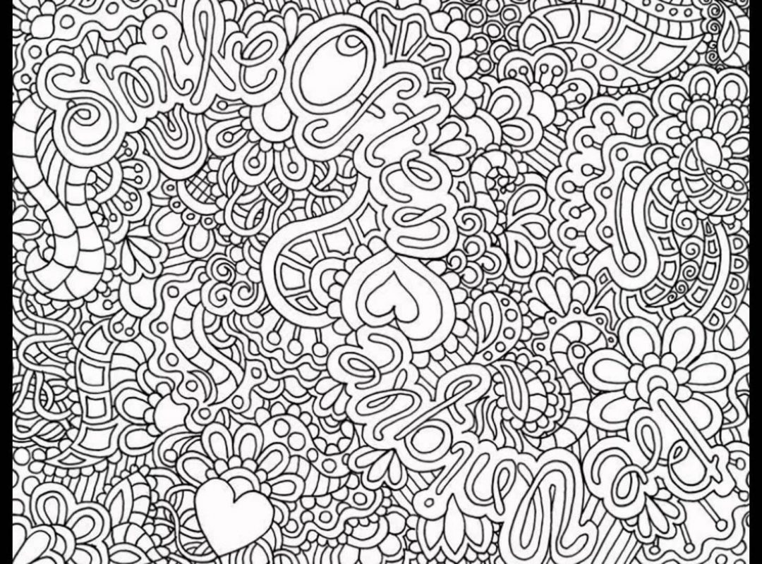 1080x800 Adults Coloring Pages Hard Fresh Difficult Printable Image