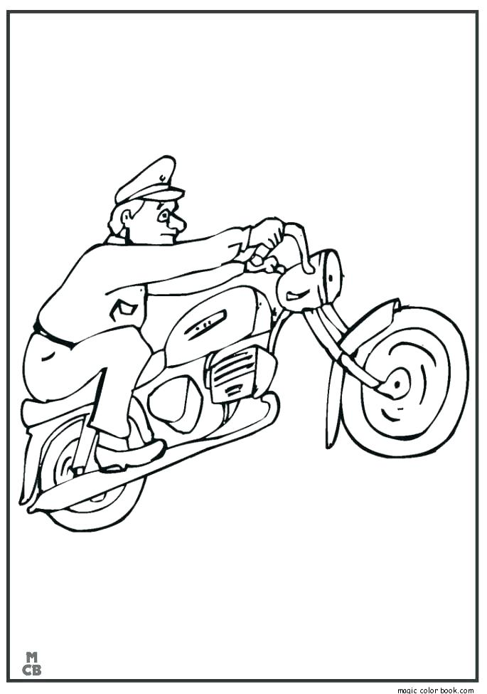 685x975 Harley Davidson Coloring Sheets Motorcycle Pages Book In Addition