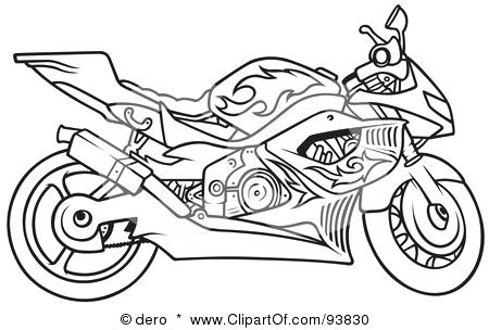 450x304 Motorbike Coloring Pages Motorbike Coloring Pages Free Printable