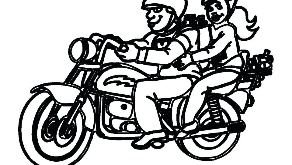 960x544 Motorcycle Coloring Page Best Motorcycle Coloring Pages