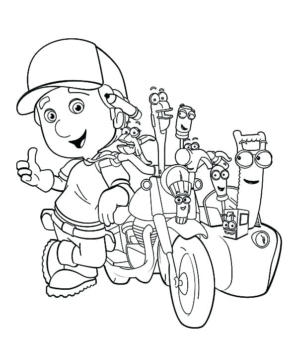 600x715 Free Printable Motorcycle Coloring Pages For Kids Free Motorcycle