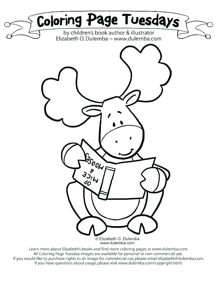 736x952 Moose Coloring Page Blueberry Muffin Colouring Pages Kids Coloring
