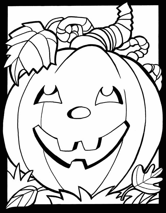 Coloring Pages Hollween