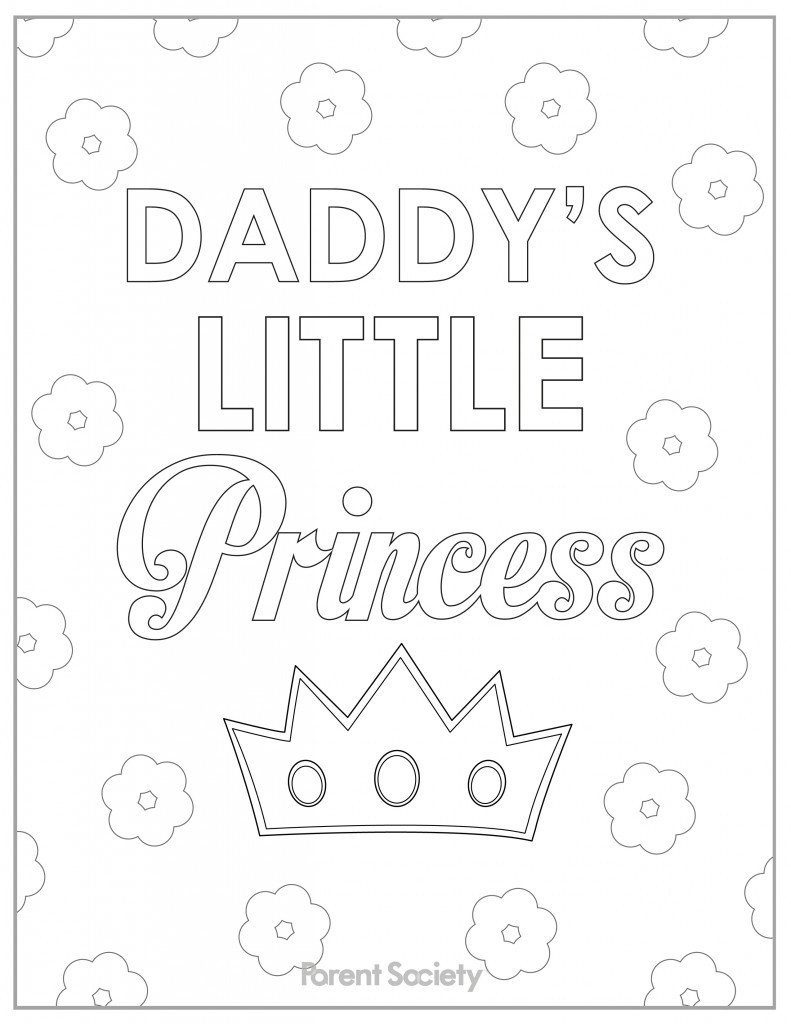 791x1024 I Miss You Daddy Coloring Pages