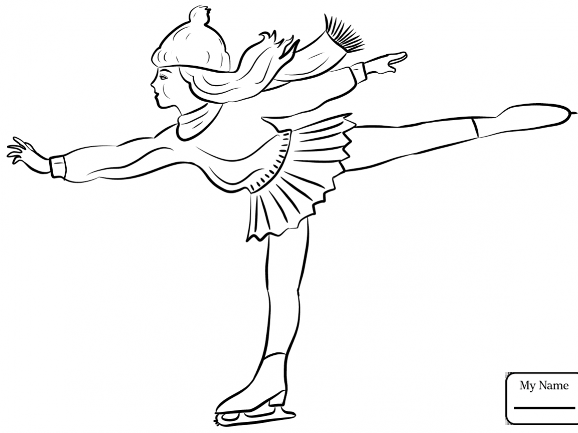 1152x864 Figure Skating Coloring Page Pairs In Sync Activities Free Pages