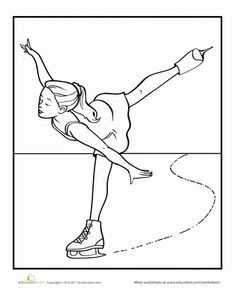 236x296 Ice Skating Coloring Pages Elegant Printable Coloring Page