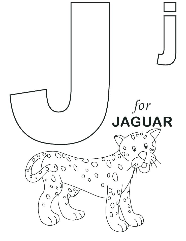 Coloring Pages J